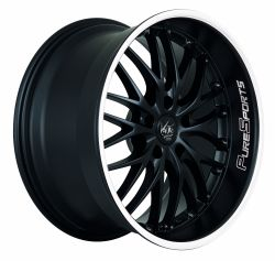 VOLTEC T6 Mattblack Puresports / Color Trim weiss