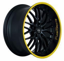 VOLTEC T6 Mattblack Puresports / Color Trim gelb