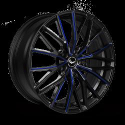 PROJECT 3.0 Black gloss Flashblue
