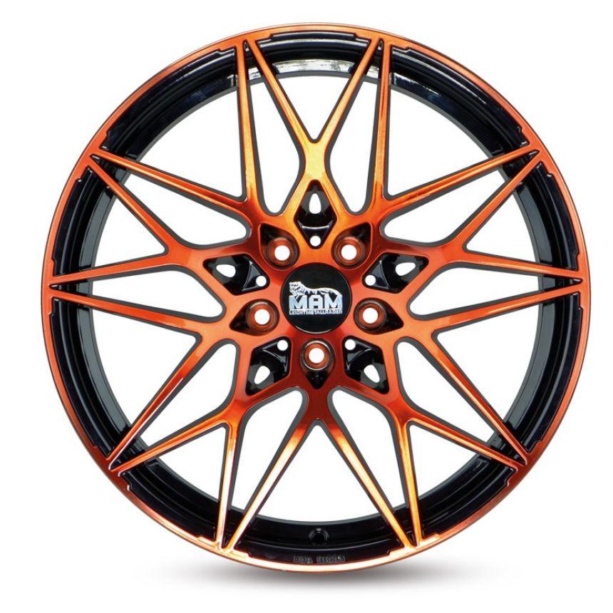 B2 Black Front Orange