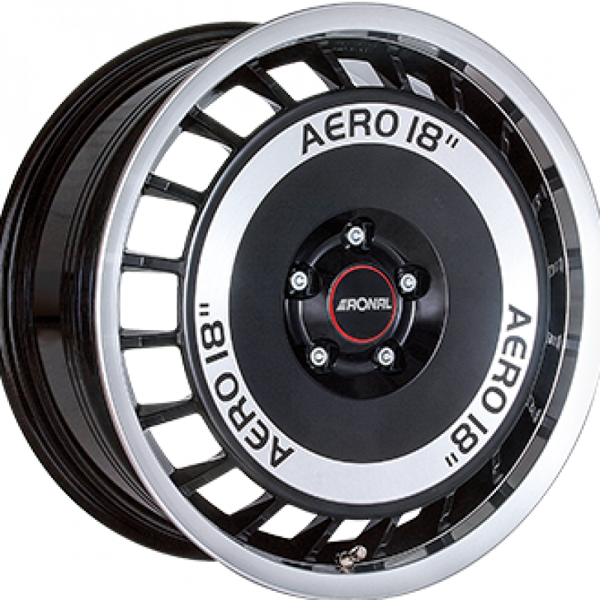 R50 AERO Gloss Black / Polished